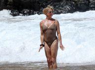 Goldie Hawn : 70 ans et au top en maillot de bain sur la plage
