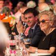 Semi-exclusif - Manuel Valls, premier ministre et Bernadette Chirac - Dîner anniversaire pour les 10 ans du Musée du quai Branly - Jacques Chirac à Paris, France, le 23 juin 2016. © Romuald Meigneux/Bestimage