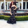Ariel Winter prête pour son bal de fin d'année. Instagram, mai 2016