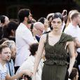 Défilé Givenchy mode masculine printemps-été 2017 au Lycée Janson-de-Sailly à Paris, le 24 juin 2016. © Olivier Borde / Bestimage