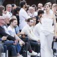 Natalia Vodianova - Défilé Givenchy mode masculine printemps-été 2017 au Lycée Janson-de-Sailly à Paris, le 24 juin 2016. © Olivier Borde / Bestimage