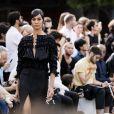 Joan Smalls - Défilé Givenchy mode masculine printemps-été 2017 au Lycée Janson-de-Sailly à Paris, le 24 juin 2016. © Olivier Borde / Bestimage