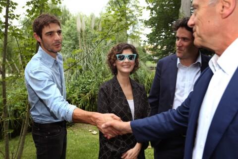 Audrey Tautou officialise avec le beau Yann Le Bourbouac'h devant Alain Juppé