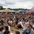 """18ème édition du festival de musique Solidays sous le thème du """"Summer of Love"""" organisé par l'association Solidarite Sida à l'hippodrome de Longchamp à Paris le 25 juin 2016. © Lise Tuillier / Bestimage"""