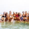 Taylor Swift fête l'Indépendance Américaine avec ses amies parmi lesquelles l'actrice Blake Livelt (enceinte), les mannequins Gigi Hadid, Karlie Kloss, Cara Delevingne ou encore Ruby Rose et sa nouvelle chérie. Photo publiée sur Instagram, le 5 juillet 2016.