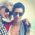 Ruby Rose célèbre la fête de l'Indépendance Américaine chez Taylor Swift. Photo publiée sur Instagram, le 5 juillet 2016