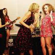 Abigail Anderson et sa meilleure amie de Taylor Swift fêtent l'Indépendance Américaine au domicile de la popstar. Photo publiée sur Instagram, le 5 juillet 2016