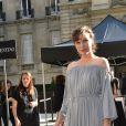 Milla Jovovich - Défilé Valentino, collection haute couture automne-hiver 2016/2017, à l'hôtel Salomon de Rothschild. Paris, le 6 juillet 2016. © CVS-Veeren/Bestimage