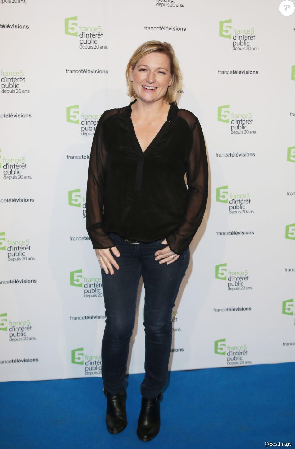 Anne-Elisabeth Lemoine - Soirée du 20ème anniversaire de France 5 à la Cité de la mode et du design à Paris, le 27 novembre 2014.