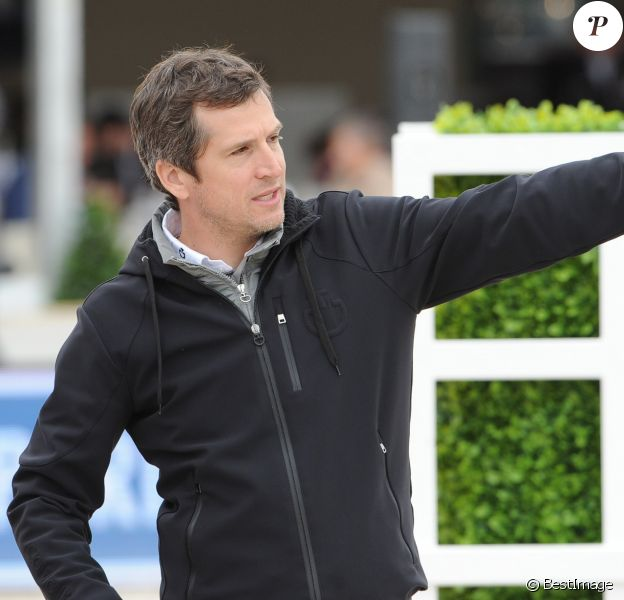 Guillaume Canet - Reconnaissance du Prix Eiffel Sunday Challenge Mairie de Paris - Longines Paris Eiffel Jumping à la plaine le 3 juillet 2016. © Pierre Perusseau / Bestimage  Longines Paris Eiffel Jumping à la plaine in Paris on july 3 201603/07/2016 - Paris