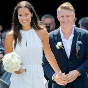 Ana Ivanovic et Bastian Schweinsteiger : Magnifiques mariés à Venise