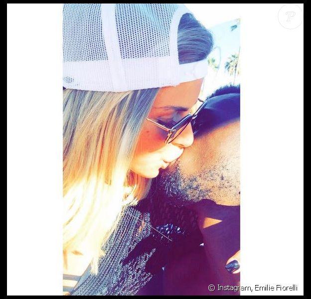 Emilie Fiorelli et son petit M'Baye Niang en couple, sur Instagram