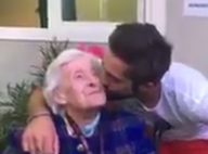 """Kendji Girac rencontre sa fan centenaire : """"Il est plus joli que sur les photos"""""""