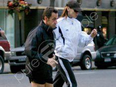 REPORTAGE PHOTOS  EXCLUSIVES : Carla et Nicolas, jogging amoureux à Central Park ! (réactualisé)