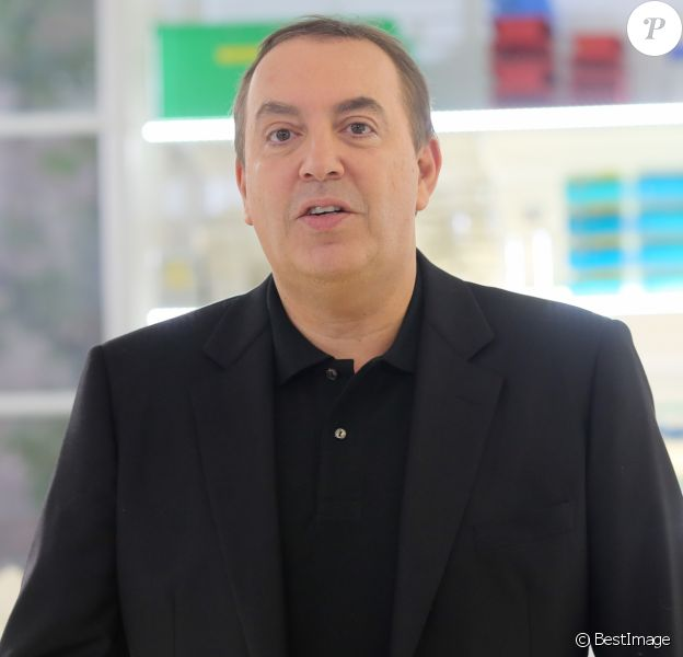 Jean-Marc Morandini (NRJ12) - Tournage coulisses des spots TV du Pasteurdon à l'Institut Pasteur à Paris, le 16 juin 2016.