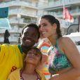 Laury Thilleman (miss France 2011) à la Summer Cup 2016 à La Baule le 8 juillet 2016. La Summer Cup 2016, 6ème édition, est l'un des plus grands rassemblement de stand-Up Paddle d'Europe. © Laetitia Notarianni / Bestimage