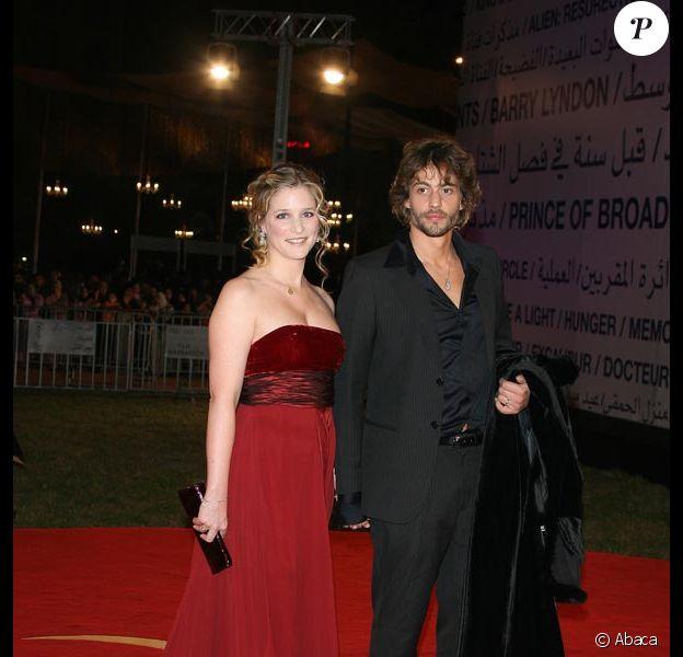 Natacha Régnier et Guillaume