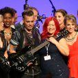 """Johnny Depp - Personnalités lors du 16e """"Starkey Hearing Foundation Gala"""" à St. Paul, le 17 juillet 2016."""