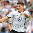 Mario Gomez - EURO 2016, l'Allemagne affronte l'Irlande du Nord à Paris, le 21 juin 2016.