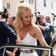 Mario Gomez épouse la sublime Carina à Munich, le 22 juillet 2o16.