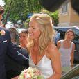 Mariage du footballeur Allemand Mario Gomez avec Carina Wanzung à Munich le 22 juillet 2016. 22/07/2016 - Munich