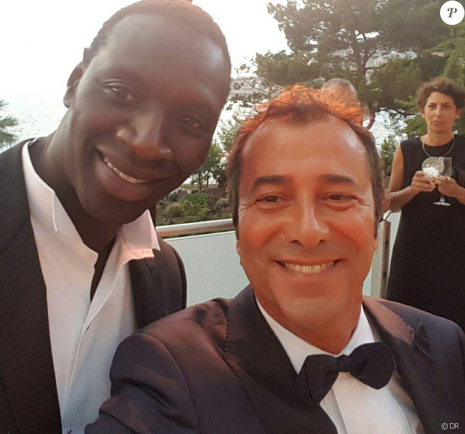 Omar sy et bernard montiel au 68 me gala de la croix rouge mon gasque dans la salle des etoiles - Bernard montiel et sa compagne ...