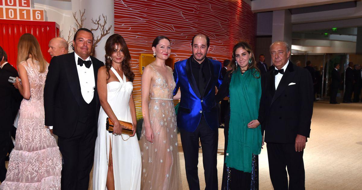 Gilles mansard et sa compagne fawaz gruosi et sa compagne sophie taylor 68 me gala de la - Sophie jovillard et sa compagne ...