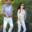 Exclusif - Adriana Lima et son mari Marko Jaric se rendent à la fête de l'école de leurs filles Sienna et Valentina pour Noel à Miami, le 19 décembre 2013.