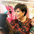 """La famille Kardashian de sortie pour fêter l'anniversaire de la grand-mère du clan, Mary Jo, et célébrer l'inauguration de sa nouvelle boutique pour enfants """"Shannon & Co"""", à San Diego le 26 juillet 2016"""