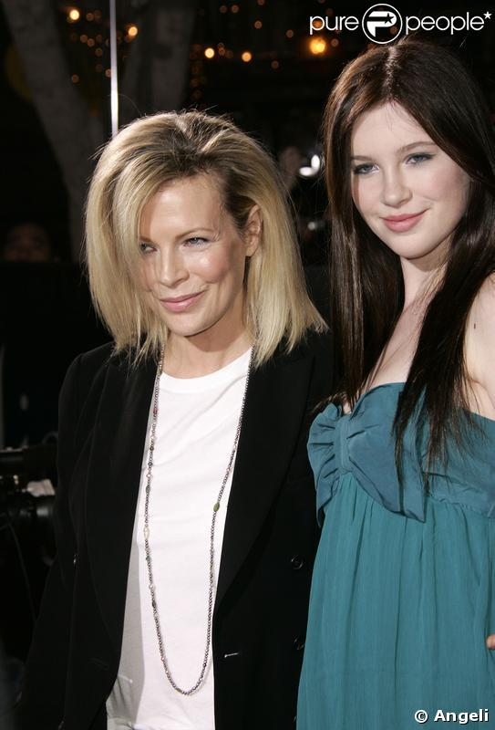 Kim Bsinger et sa fille Ireland