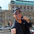 Jean-Claude Van Damme à Vienne, le 16 avril 2013