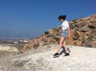 Marina Kaye, loin de la polémique en Grèce, s'exhibe sans maquillage !