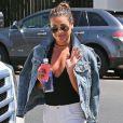 Lea Michele se promène à Los Angeles, le 13 juillet 2016.