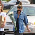 Exclusif - Lea Michele et sa mère Edith font du shopping à Whole Foods à West Hollywood, le 27 juin 2016