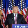 Ivanka Trump, Melania Trump - Donald Trump s'adresse à ses supporters et aux médias pendant un meeting à Briarcliff Manor, à New York le 7 juin 2016