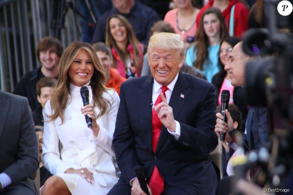 Donald Trump et sa femme Melania Trump - Donald Trump ...