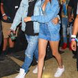 The Weeknd et Bella Hadid à Coachella. Le 16 avril 2016.