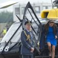 Le prince George de Cambridge assistait avec ses parents au Royal International Air Tattoo à Fairford, le 8 juillet 2016.