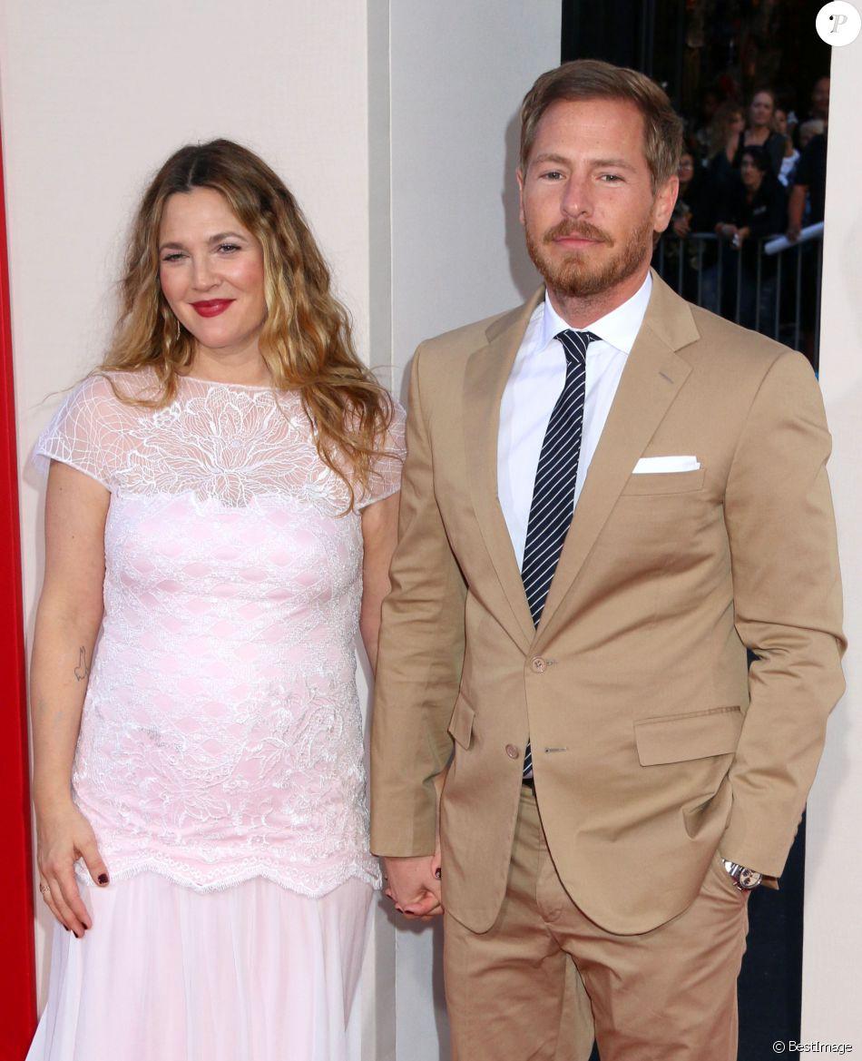 """Drew Barrymore et son mari Will Kopelman lors de la première du film """"Blended"""" à Hollywood, le 21 mai 2014."""