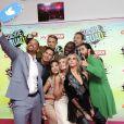 Will Smith, Jay Hernandez, Joel Kinnaman, Karen Fukuhara, Margot Robbie, Cara Delevingne, Adewale Akinnuoye-Agbaje, Jai Courtney et Jared Letolors de la première de Suicide Squad à l'Odeon Leicester Square, Londres, le 3 août 2016.