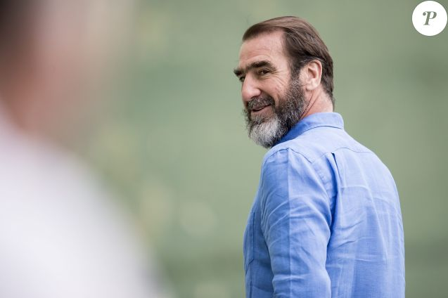Eric Cantona le 22 mai 2016.  Soccer player Eric Cantona. May 22nd 21622/05/2016 - Casses