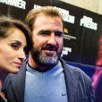 Eric Cantona et Rachida Brakni à Paris le 25 Septembre 2012.