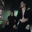 Jared Leto et Skrillex dans le clip de Purple Lamborghini, extrait de la BO de Suicide Squad, par Skrillex et Rick Ross. (capture d'écran)