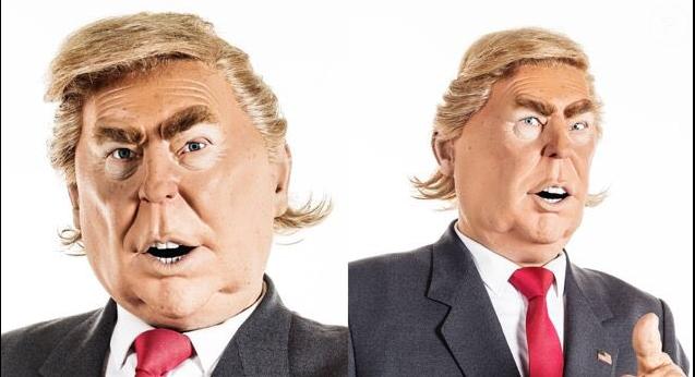 La marionnette de Donald Trump dans  Les Guignols de l'Info  a été dévoilée.