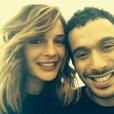 Mustapha El Atrassi et Ornella (soeur d'Erika des Whatfor), amoureux depuis cinq ans en 2016.
