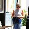Sofia Richie les cheveux tressés à Los Angeles, Californie, Etats-Unis, le 3 août 2016.