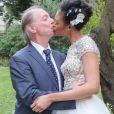 Exclusif - Mariage de Philippe Chevallier et Tiffany à la Mairie du XVIème arrondissement à Paris, le 26 juillet 2016