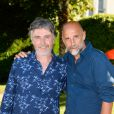 Jérôme Soubeyrand et Pierre-Loup Rajot - Ouverture du 9ème Festival du Film Francophone d'Angoulême, le 23 août 2016. © Coadic Guirec/Bestimage