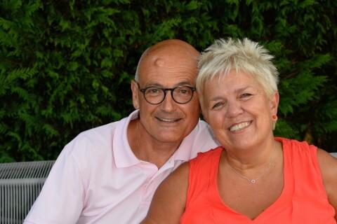 Mimi Mathy et son chéri Benoist fêtent leurs 11 ans de mariage à Angoulême