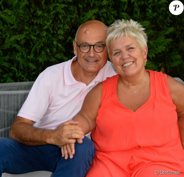 Mimie Mathy et son époux Benoist Gérard - 9ème Festival du Film Francophone d'Angoulême - Jour 5, le 26 août 2016. © Coadic Guirec/Bestimage